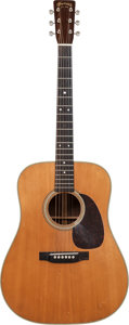 Musical Instruments:Acoustic Guitars, 1954 Martin D-28 Natural Acoustic Guitar, Serial # 141212....