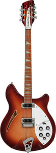 Musical Instruments:Electric Guitars, 1987 Rickenbacker 360/12 Fireglo 12-String Semi-Hollow BodyElectric Guitar, Serial # HO8265....