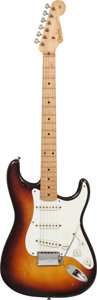 Musical Instruments:Electric Guitars, 1958 Fender Stratocaster Sunburst Solid Body Electric Guitar, Serial # 29258....