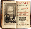 Books:Literature Pre-1900, [Eustache LeNoble]. L'Ecole Du Monde, ou Instruction D'Un Pere AUn Fils, Touchant la Maniere Don't il Faut Vivre dans l...