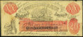 Confederate Notes:1861 Issues, XX-1/C1 Back F $20 1861 Female Riding Deer Bogus Note.. ...
