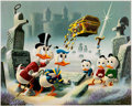 Memorabilia:Disney, Carl Barks Dubious Doings at Dismal Downs Signed Limited Edition Lithograph Print #223/345 (Another Rainbow, 1986)... (Total: 2 Items)