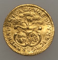 Austria, Austria: Kremnitz gold Friendship Medal of 1/4 Ducat ND (ca. 1740)AU, ...