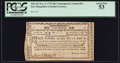 Colonial Notes:New Hampshire, New Hampshire November 3, 1775 40s Contemporary Counterfeit PCGSAbout New 53.. ...