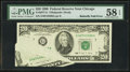 Error Notes:Foldovers, Fr. 2077-G $20 1990 Federal Reserve Note. PMG Choice About Unc 58EPQ.. ...