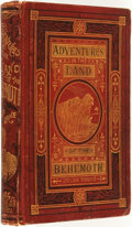 Books:Science Fiction & Fantasy, Jules Verne. Adventures in the Land of the Behemoth. Boston: Henry L. Shepard & Co., 1874.. ...