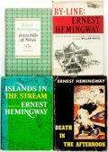 Books:Fiction, Ernest Hemingway. Group of Four Titles. Scribner's, [variousdates].... (Total: 4 Items)