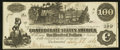 Confederate Notes:1862 Issues, T39 $100 1862 PF-13 State I Cr. 294.. ...