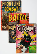 Golden Age (1938-1955):War, Comic Books - Assorted Golden and Silver Age War Comics Group(Various Publishers, 1950s-60s) Condition: Average VG.... (Total:20 Comic Books)