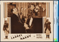"Movie Posters:Comedy, Beau Hunks (MGM, 1932). CGC Graded Lobby Card (11"" X 14"").. ..."