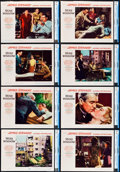 "Movie Posters:Hitchcock, Rear Window (Paramount, 1954). CGC Graded Lobby Card Set of 8 (11"" X 14"").. ... (Total: 8 Items)"