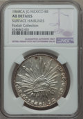 Mexico, Mexico: Republic 8 Reales 1868 Ca-JG AU Details (Surface Hairlines)NGC,...
