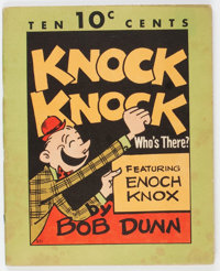 Knock Knock Who's There #801 (Dell, 1936) Condition: FN