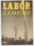 Golden Age (1938-1955):Non-Fiction, Labor Is A Partner #nn (Catechetical Guild, 1949) Condition: VG....