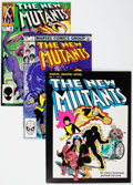 Modern Age (1980-Present):Superhero, The New Mutants Group of 108 (Marvel, 1982-91) Condition: AverageNM-.... (Total: 108 Comic Books)