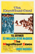 "Movie Posters:Western, The Magnificent Seven (United Artists, 1960). One Sheet (27"" X 41"").. ..."
