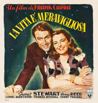 "It's a Wonderful Life (RKO, 1948). Italian 4 Fogli (55"" X 57"") Averardo Ciriello Artwork"