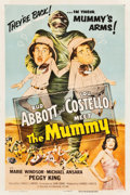 "Movie Posters:Comedy, Abbott and Costello Meet the Mummy (Universal International, 1955).One Sheet (27"" X 41"").. ..."