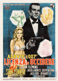 "Movie Posters:James Bond, Dr. No (United Artists, 1962). Italian 2 - Fogli (39.5"" X 55"")Averardo Ciriello Artwork.. ..."