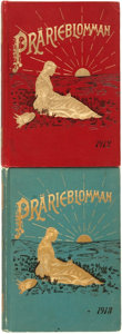 Books:Americana & American History, [Sweden]. Pair of Prärieblomman Kalenders for 1912 and 1913.Rock Island, IL: Augustana Book Concern, 1911 - 191... (Total: 2Items)