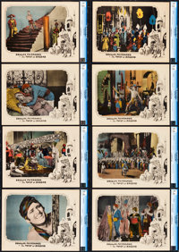 "The Thief of Bagdad (United Artists, 1924). CGC Graded Lobby Card Set of 8 (11"" X 14""). ... (Total: 8 Items)"