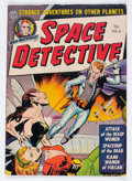 Golden Age (1938-1955):Science Fiction, Space Detective #4 (Avon, 1952) Condition: VG+....