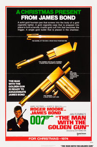 "The Man with the Golden Gun (United Artists, 1974). Flat Folded One Sheet (27"" X 41"") Advance"