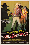 "Movie Posters:Serial, The Phantom of the West (Mascot, 1931). One Sheets (9) (27"" X41"").. ... (Total: 9 Items)"