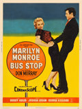 "Movie Posters:Drama, Bus Stop (20th Century Fox, 1956). MP Graded Poster (30"" X 40"") Style Z.. ..."