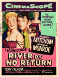 "Movie Posters:Western, River of No Return (20th Century Fox, 1954). MP Graded Poster (30""X 40"") Style Y.. ..."