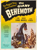 "Movie Posters:Science Fiction, The Giant Behemoth (Allied Artists, 1959). Poster (30"" X 40"").. ..."