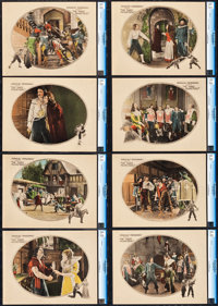 """The Three Musketeers (United Artists, 1921). CGC Graded Lobby Card Set of 8 (11"""" X 14""""). ... (Total: 8 Items)"""