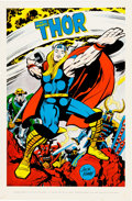 Memorabilia:Poster, Marvel Character Poster Group of 3 (Marvelmania, 1970).... (Total:3 Items)