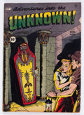 Golden Age (1938-1955):Horror, Adventures Into The Unknown #3 (ACG, 1949) Condition: VG-....