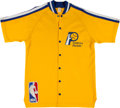 Basketball Collectibles:Others, 1983-84 Sidney Lowe Game Worn Indianapolis Pacers Warmup Uniform....