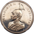 German East Africa, German East Africa: German Colony - Wihelm II Proof Rupie 1904-A PR63 Cameo NGC,...