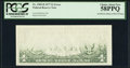 Error Notes:Blank Reverse (<100%), Fr. 1909-D $1 1977 Federal Reserve Note. PCGS Choice About New58PPQ.. ...