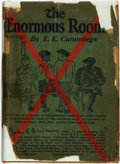 Books:Literature 1900-up, E. E. Cummings. The Enormous Room. New York: Boni andLiveright, [1922]....