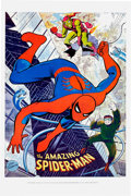 Memorabilia:Poster, Spider-Man Poster Group of 2 (Marvel, c. 1960s-70s).... (Total: 2Items)