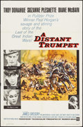 """Movie Posters:Western, A Distant Trumpet & Others Lot (Warner Brothers, 1964). One Sheets (4) (27"""" X 41""""). Western.. ... (Total: 4 Items)"""