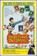 """Movie Posters:Comedy, The Outlaws is Coming (Columbia, 1965). One Sheet (27"""" X 41""""). Comedy.. ..."""