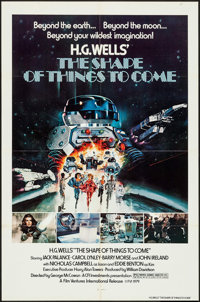 """The Shape of Things to Come (Film Ventures International, 1979). One Sheets (5) (27"""" X 41""""). Science Fiction..."""