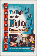 "Movie Posters:Adventure, The High and the Mighty (Warner Brothers, 1954). One Sheet (27"" X41""). Adventure.. ..."