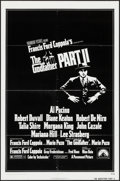 "Movie Posters:Crime, The Godfather Part II (Paramount, 1974). One Sheet (27"" X 41""). Crime.. ..."