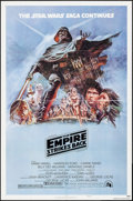 """Movie Posters:Science Fiction, The Empire Strikes Back (20th Century Fox, 1980). One Sheet (27"""" X41"""") Style B. Science Fiction.. ..."""