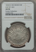 Mexico, Mexico: Republic 8 Reales 1832 Ca-MR AU50 NGC,...