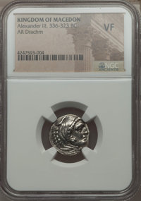 Ancients: MACEDONIAN KINGDOM. Alexander III the Great (336-323 BC). AR drachm (no wt. given)