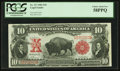 Large Size:Legal Tender Notes, Fr. 117 $10 1901 Legal Tender PCGS Choice About New 58PPQ.. ...