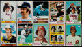 Baseball Cards:Sets, 1978 and 1979 Topps Baseball Complete Sets (2)....