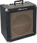 Musical Instruments:Amplifiers, PA, & Effects, 1963 Ampeg M-15 Navy Blue Guitar Amplifier, Serial # 301524....